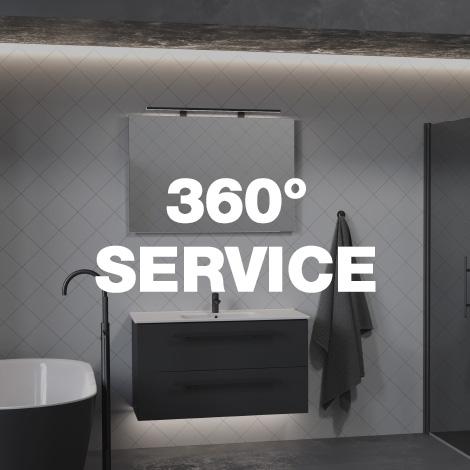 Badeverden 360 grader service