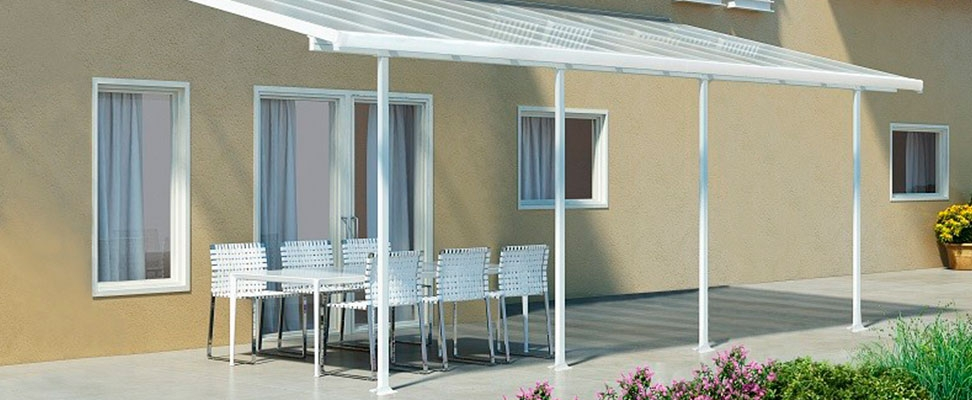 Overdækning af terrasse