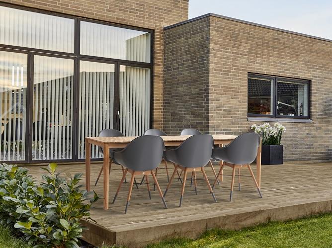 Havemøbler i teak